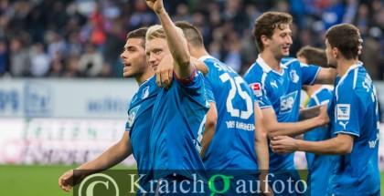 01.02.2014 TSG 1899 Hoffenheim - Hamburger SV 3:0 (2:0)