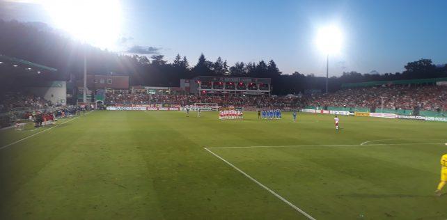 "FC Würzburger Kickers vs. ""1860"" Hoffenheim"