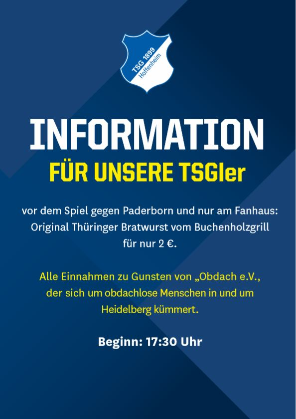 Spendenaktion Paderborn